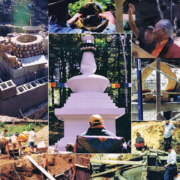 Tsegyalgar East Khandroling Stupa