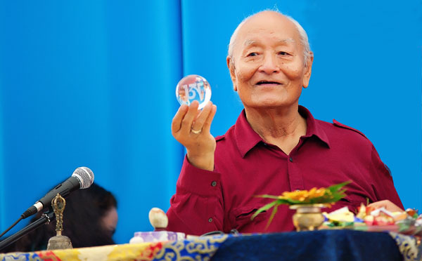 3rd Anniversary of the Passing of Chogyal Namkhai Norbu