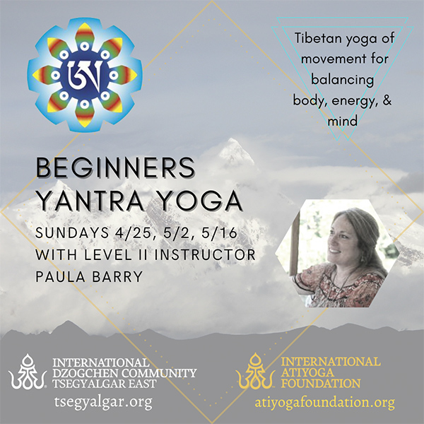 Beginner's Yantra Yoga Course with Paula Barry
