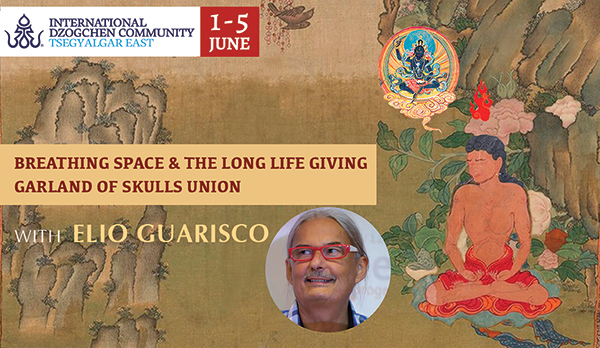 Breathing Space & The Long Life Giving Garland of Skulls Union with Elio Guarisco