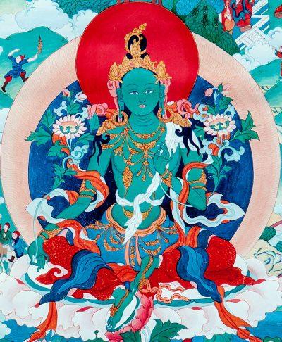 Green Tara Practice Global Chain