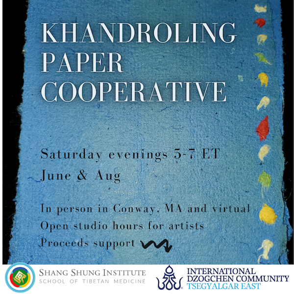 Workshops with the Khandroling Paper Cooperative