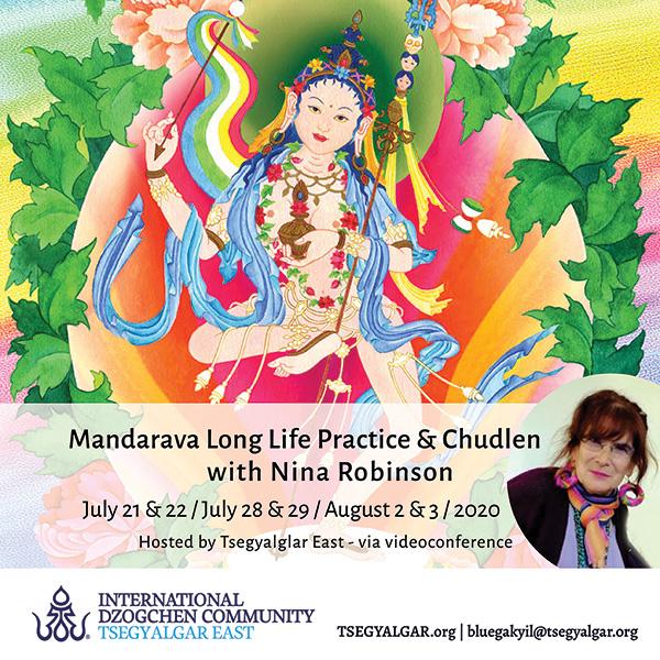 Mandarava Long Life Practice & Chudlen with Nina Robinson