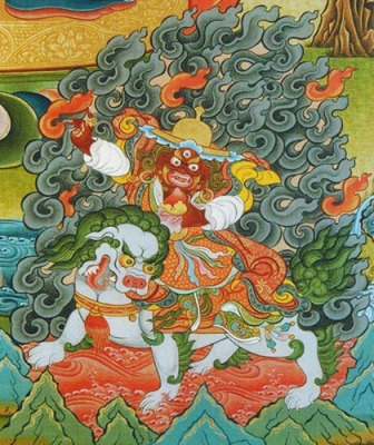Practice of the Invocation of Dorje Legpa