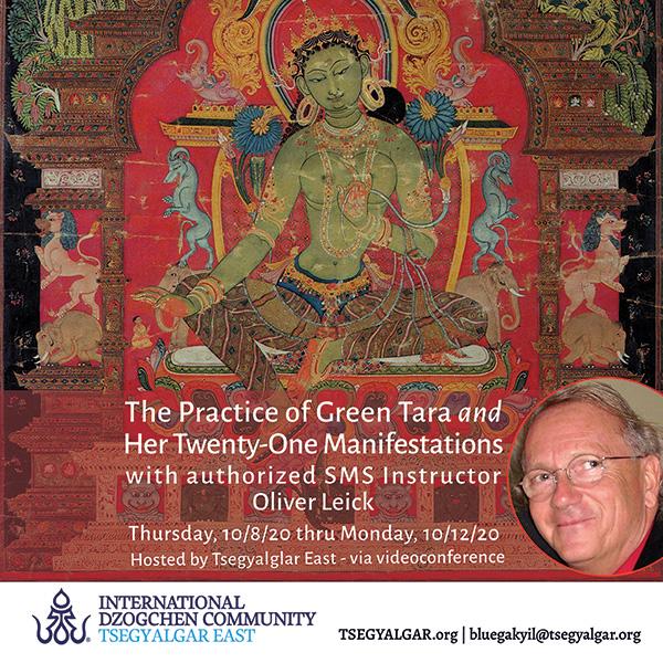 The Practice of Green Tara and Her Twenty-One Manifestations