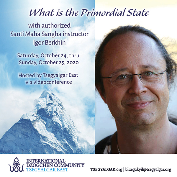 What is the Primordial State